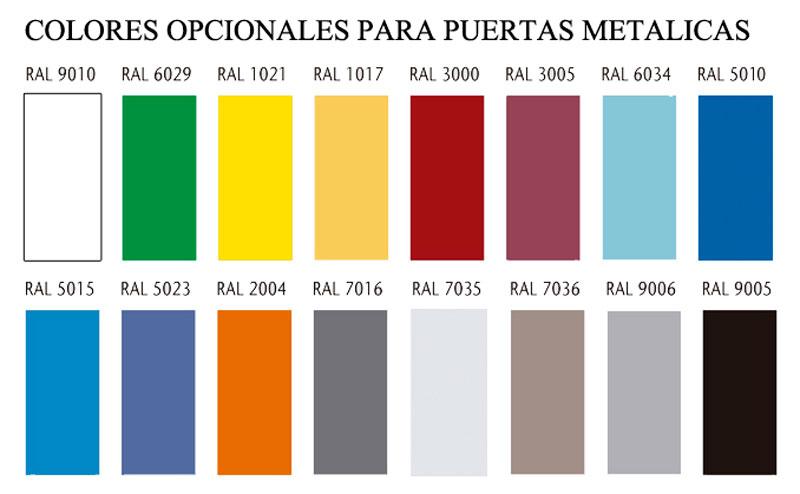 Colores para puertas decorar puertas en colores colores for Colores para puertas exteriores